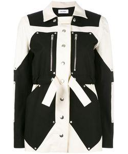 Courreges | Courrèges Colour Block Parka Jacket 38 Cotton/Spandex/Elastane