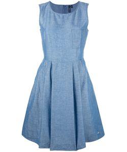 Woolrich | Denim Fla Dress Xs Cotton/Linen/Flax