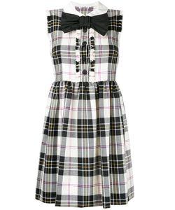 Miu Miu | Присборенное Платье В Клетку