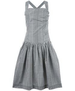 Vivienne Westwood Anglomania | Plaid Fla Dress 44 Cotton/Polyester