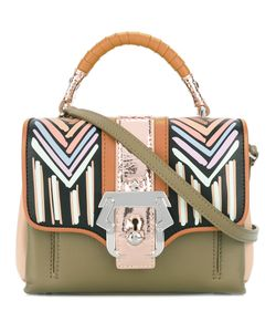 Paula Cademartori | Stripes Shoulder Bag Dun Dun