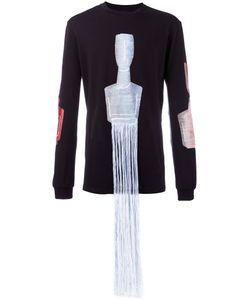 COTTWEILER | Fringes Detail Sweatshirt Size Large