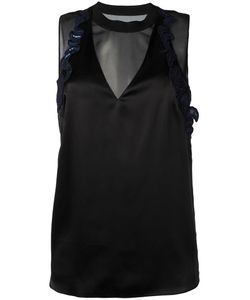 3.1 Phillip Lim | Embroide Trim Tank Top 2