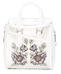 Alexander McQueen | Heroine Embroide Tote Silk/Viscose/Leather/Crystal
