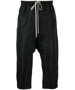 Rick Owens | Drop-Crotch Cropped Trousers