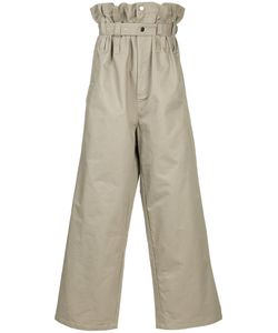 LIAM HODGES   High-Waisted Oversized Trousers Men