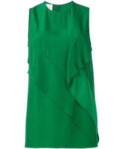 Cedric Charlier | Cédric Charlier Detailed Sleeveless Blouse Size