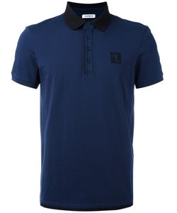 Bikkembergs | Dirk Contrast Collar Polo Shirt Size Small