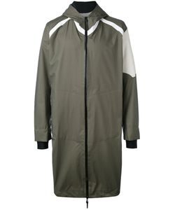 11 BY BORIS BIDJAN SABERI | Printed Hooded Coat