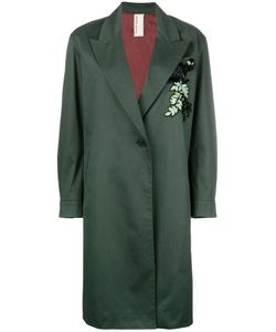 Antonio Marras | Single Breasted Coat 42 Cotton/Spandex/Elastane/Polyester