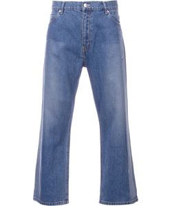 Serge De Blue | Two-Tone Wide Leg Jeans Size