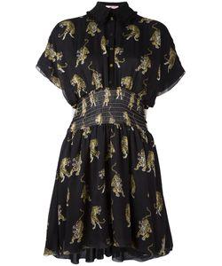 GIAMBA | Tiger Print Shirt Dress