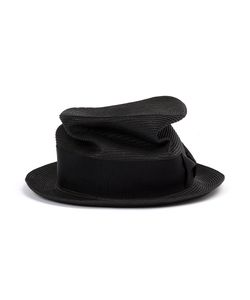 CA4LA   Braid Silk Trilby Hat Paper/Polyester