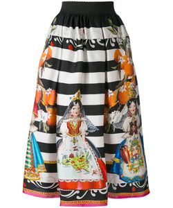Dolce & Gabbana | Doll Print Skirt