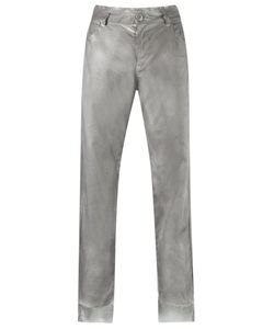 Uma Raquel Davidowicz | Slim Fit Trousers 38 Linen/Flax/Spandex/Elastane/Viscose