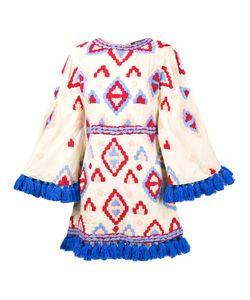 Mochi | Расклешенное Платье С Кисточками По Краям