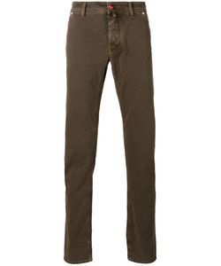 Jacob Cohёn | Jacob Cohen Checked Slim-Fit Trousers