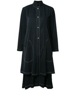 DEEP MOSS | Long Double Laye Shirt Medium Cupro/Viscose/Micromodal/Polyurethane