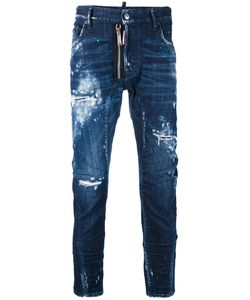 Dsquared2 | Denim Slashed Bleached Jeans
