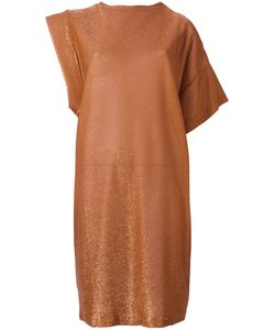 Nude | Sparkly Knit Asymmetric Dress Size 38