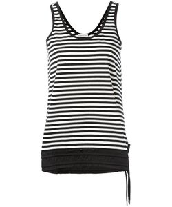 Moncler | Striped Tank Top Medium Cotton/Polyamide/Spandex/Elastane