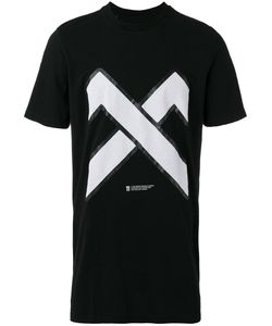 11 BY BORIS BIDJAN SABERI | Cross Print T-Shirt Small