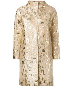 Gianluca Capannolo | Jacquard Coat 44 Cotton/Acetate/Polyester/Polyamide