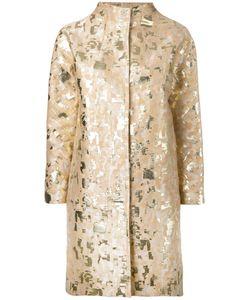Gianluca Capannolo | Jacquard Coat 44 Cotton/Acetate/Polyester/Polyamide