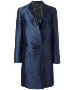 Christian Pellizzari | Double Breasted Coat 42 Polyester/Viscose