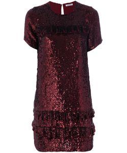 P.A.R.O.S.H. | Платье С Пайетками И Оборками