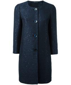 Tagliatore | Round Neck Coat Size 44