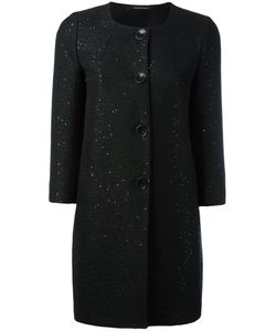 Tagliatore | Sequin Embellished Coat Size 46