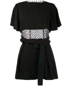 Toga Pulla | Fishnet Detail Dress Size