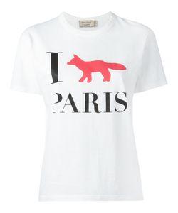 Maison Kitsune   Maison Kitsuné I Fox Paris T-Shirt Small