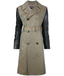 JUNYA WATANABE COMME DES GARCONS | Junya Watanabe Comme Des Garçons Contrast Sleeve Trench Coat