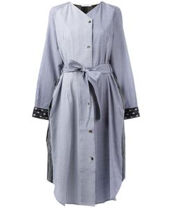 J.W. Anderson | J.W.Anderson Mixed Print Shirt Dress