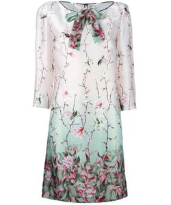 Antonio Marras | Printed Shirt Dress 46 Silk/Cupro