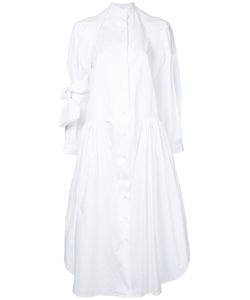 Roberts Wood | Full Length Shirt Dress Small Cotton