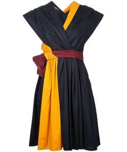 Paule Ka | Short Woven Wrap Dress