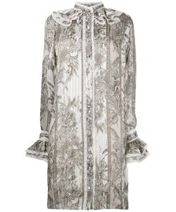 Roberto Cavalli | Frill Detail Shirt Dress