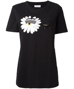 Chiara Ferragni | Embellished Eyes T-Shirt Size Small