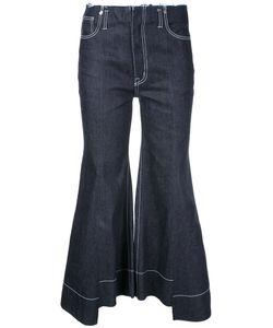 Irene | Cropped Denim Trousers