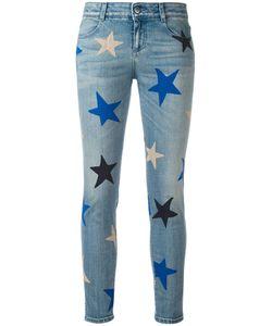 Stella Mccartney | Star Print Cropped Jeans 28 Cotton/Spandex/Elastane