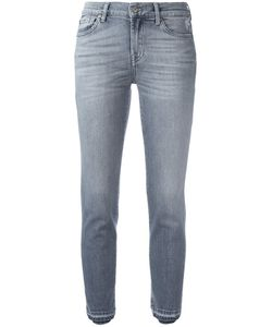 7 for all mankind | Cropped Jeans 26 Cotton/Spandex/Elastane