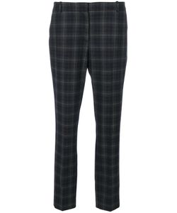 Kiltie | Checked Cropped Trousers Women