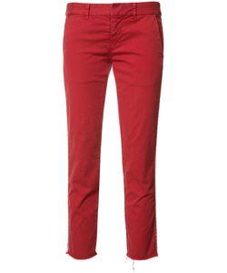 Nili Lotan | Stripe Detail Cropped Trousers 0
