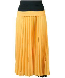 Marco De Vincenzo | Gathered Waist Pleated Skirt