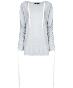 Bassike   Ruched Sleeves T-Shirt 12