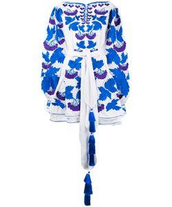 Yuliya Magdych | Платье С Цветочной Вышивкой
