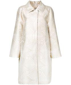 Alberta Ferretti | High Shine Coat 42 Polyester